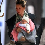 Gisele and Vivian out in NYC, April 12, 2013 (1)