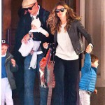 Gisele and her family out in NYC April 14 2013 (2)