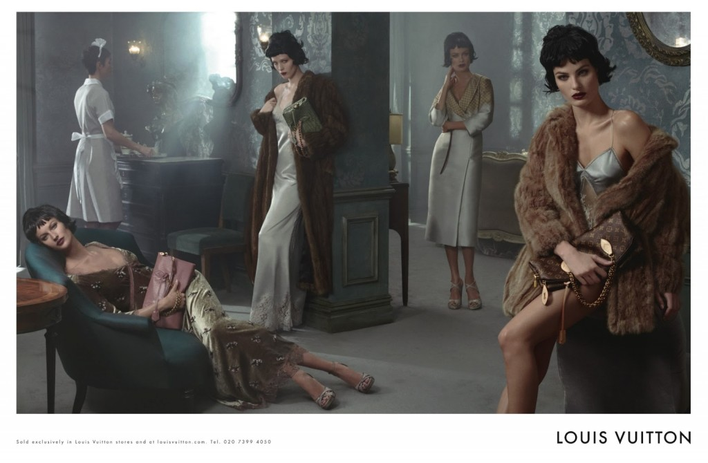 Louis Vuitton F-W 2013-2014 by Steven Meisel (2)