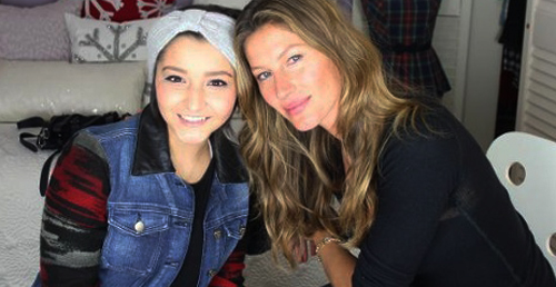 Cancer patient gets visit from Gisele December 26 2013  (5)