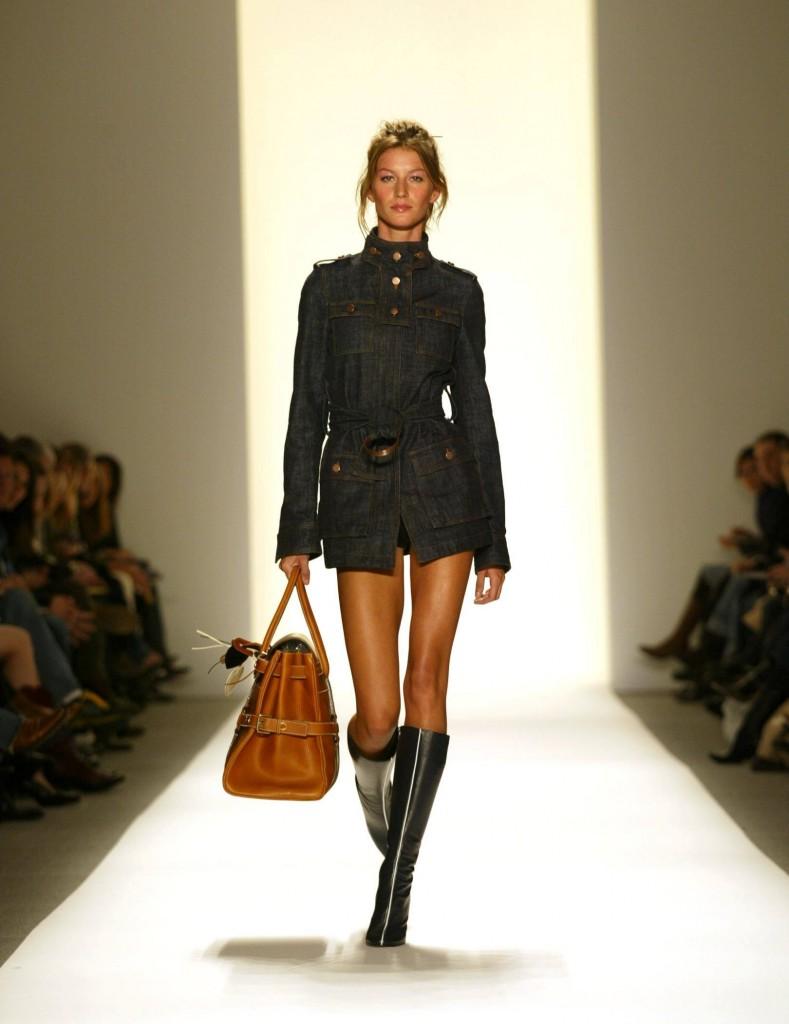 Luella Bartley Fashion Show during Fashion Week in New York