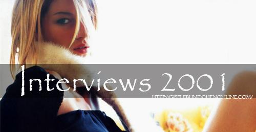 interviews 2001
