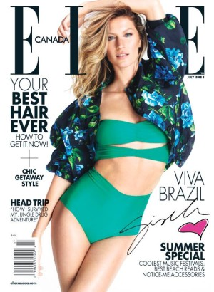 Elle Canada July 2014