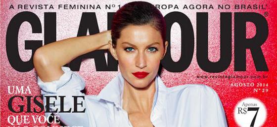 Glamour Brazil August 2014